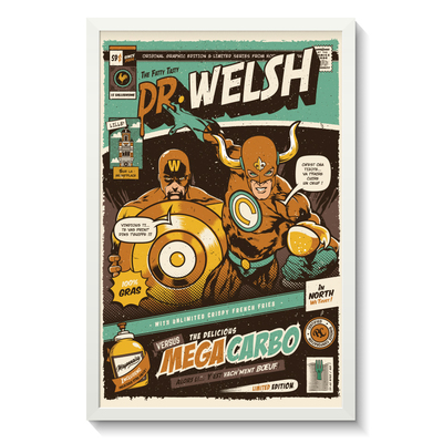 DR WELSH VERSUS MÉGA CARBO
